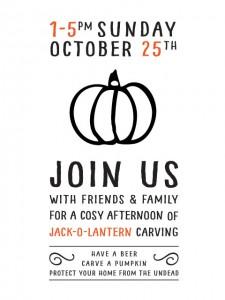 """Jack of the Lantern"" – Sunday Oct 25th"