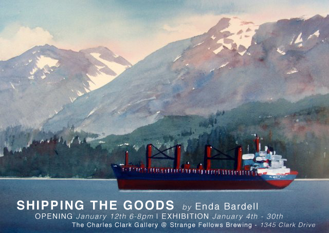 ENDA BARDELL : Shipping the Goods