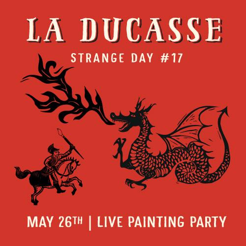 STRANGE DAY #17 : La Ducasse