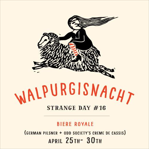 STRANGE DAY #16 : Walpurgisnacht