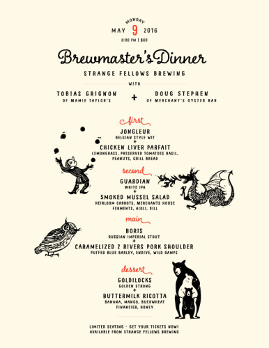Brewmaster's Dinner!