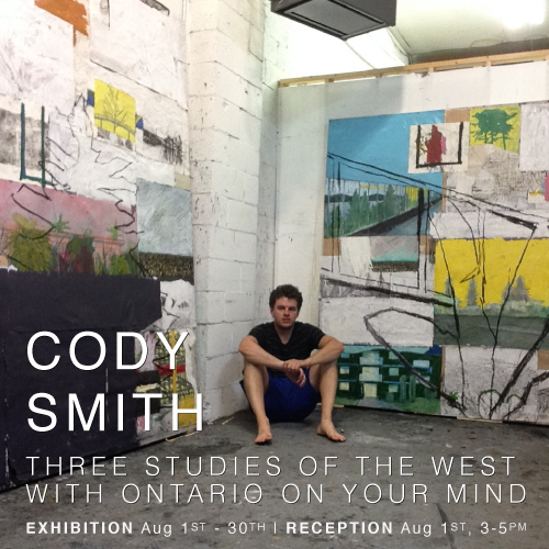 CODY SMITH: Studies of the West with Ontario on Your Mind