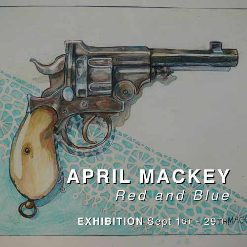 APRIL MACKEY : Red and Blue