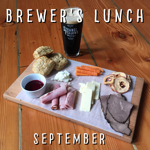 SEPTEMBER BREWER'S LUNCH