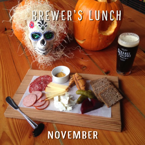 NOVEMBER BREWER'S LUNCH