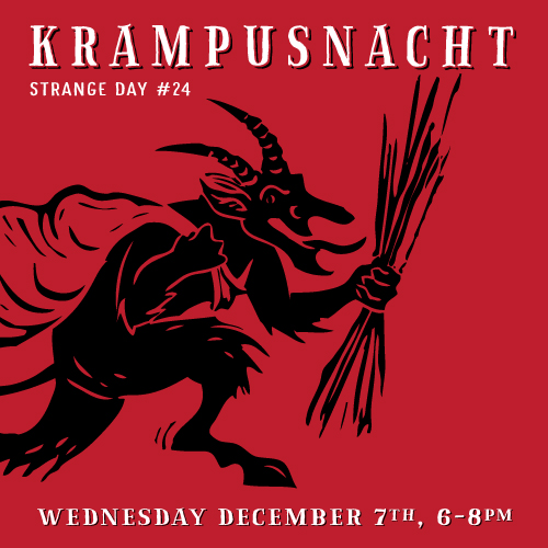 KRAMPUS is coming to town! | STRANGE DAY #24 | DEC 7th