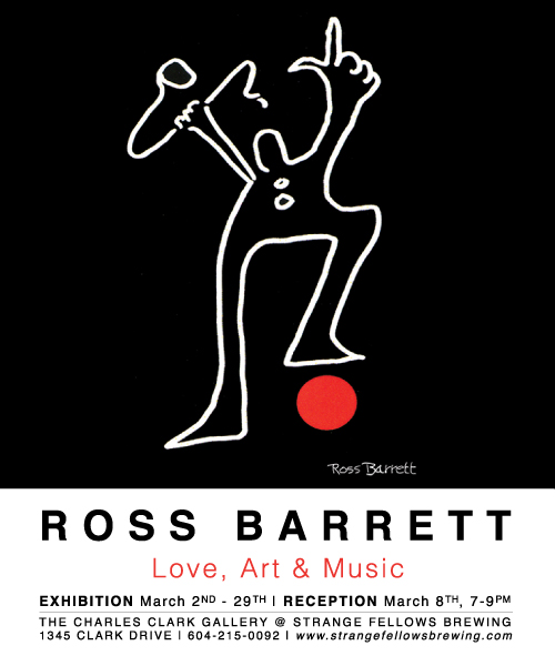ROSS BARRETT : Love, Art & Music