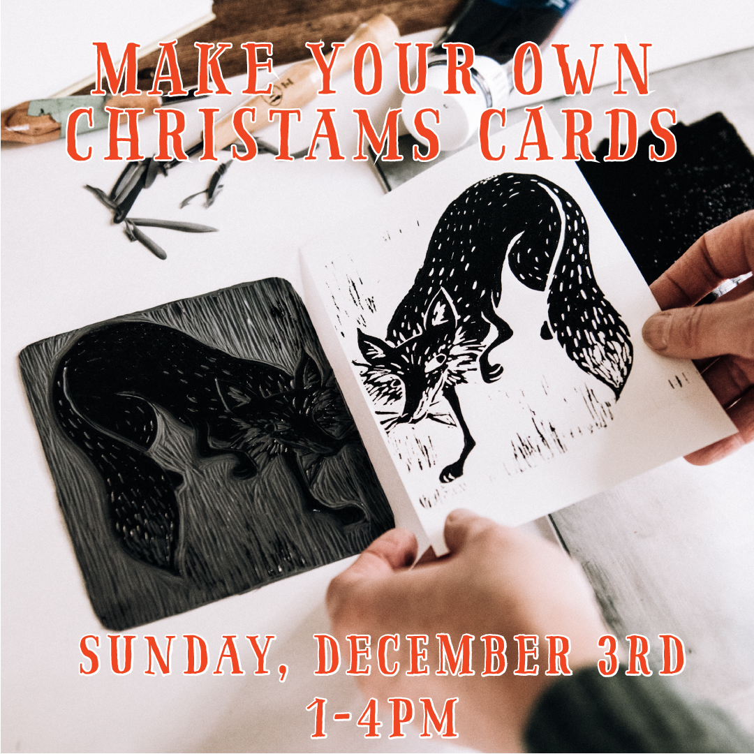 Christmas Card Workshop: December 3, 2017