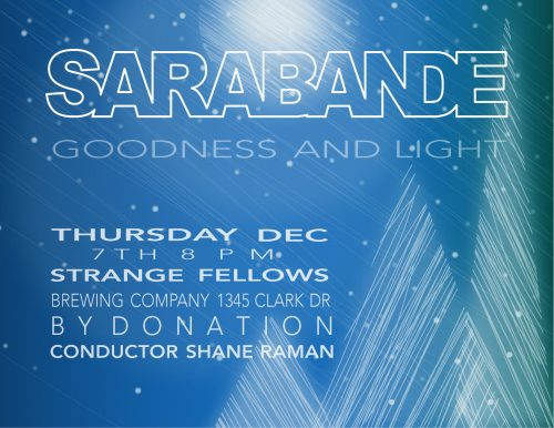 Sarabande Choir Night: December 7, 2017