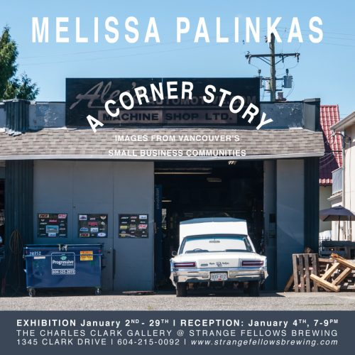 MELISSA PALINKAS | A Corner Story
