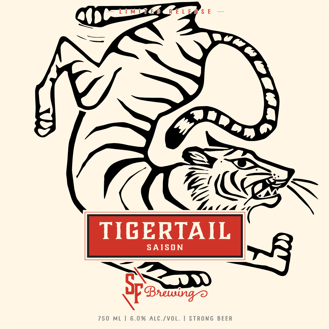 NEW BEER: TIGERTAIL Lemongrass Saison