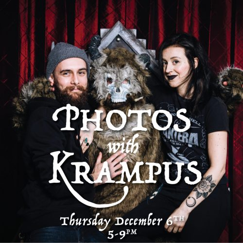 PHOTOS WITH KRAMPUS