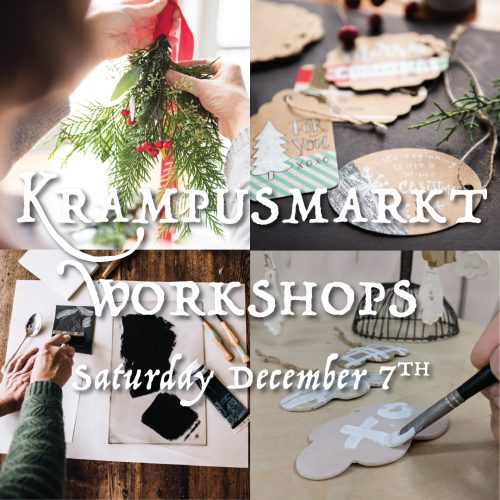 KRAMPUSMARKT WORKSHOPS