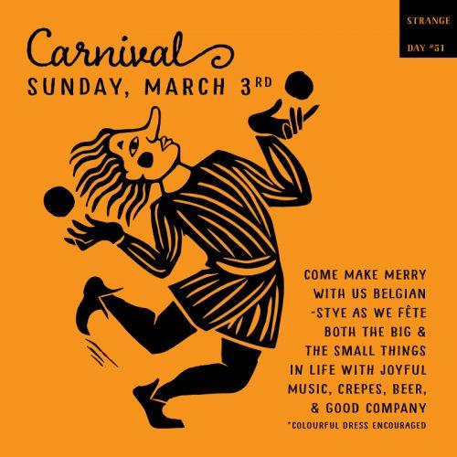 CARNIVAL – Strange Day #51
