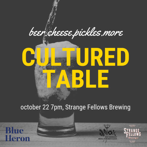 CULTURED TABLE: Beers & Bites