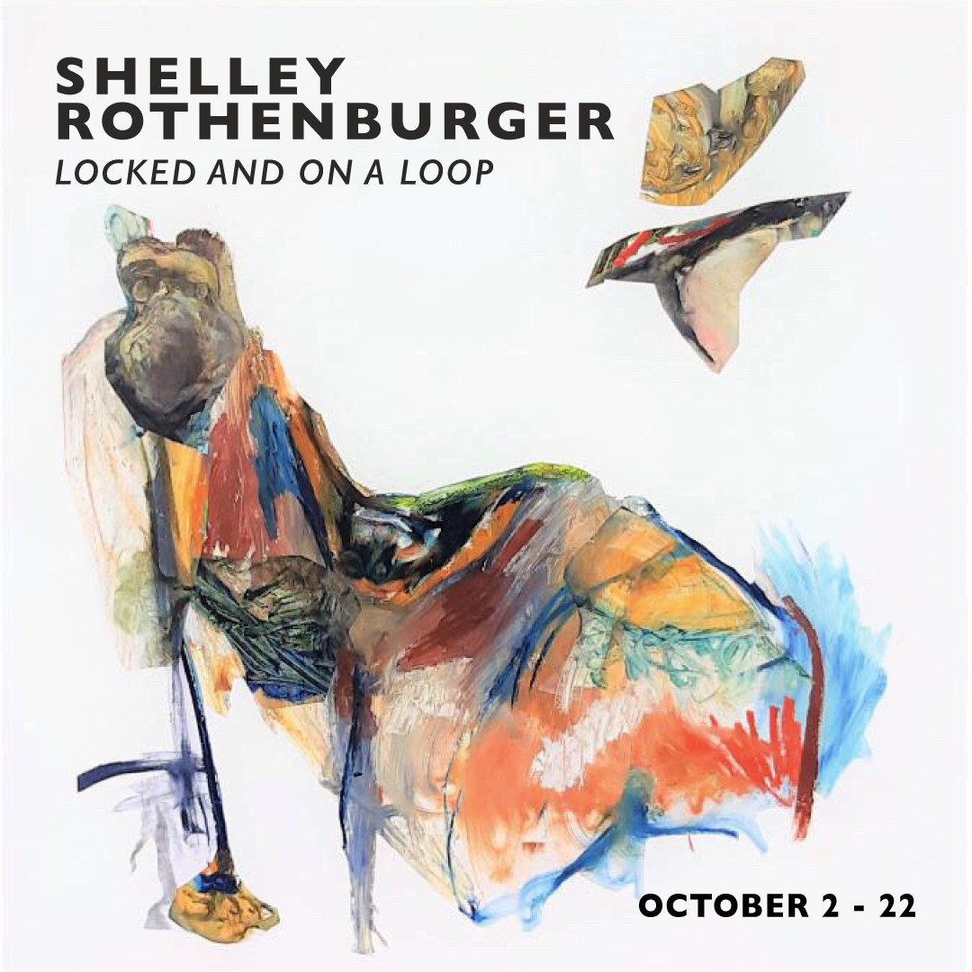 LOCKED AND ON A LOOP – Paintings by Shelley Rothenburger