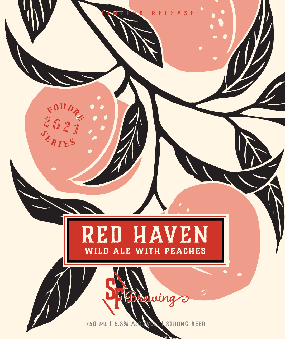RED HAVEN – WILD ALE WITH PEACHES